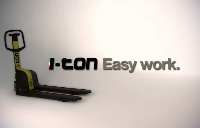 i-Ton LIFTER video industriale